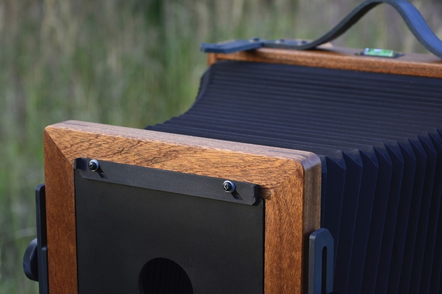 Svedovsky 8x10, natural mahogany wood