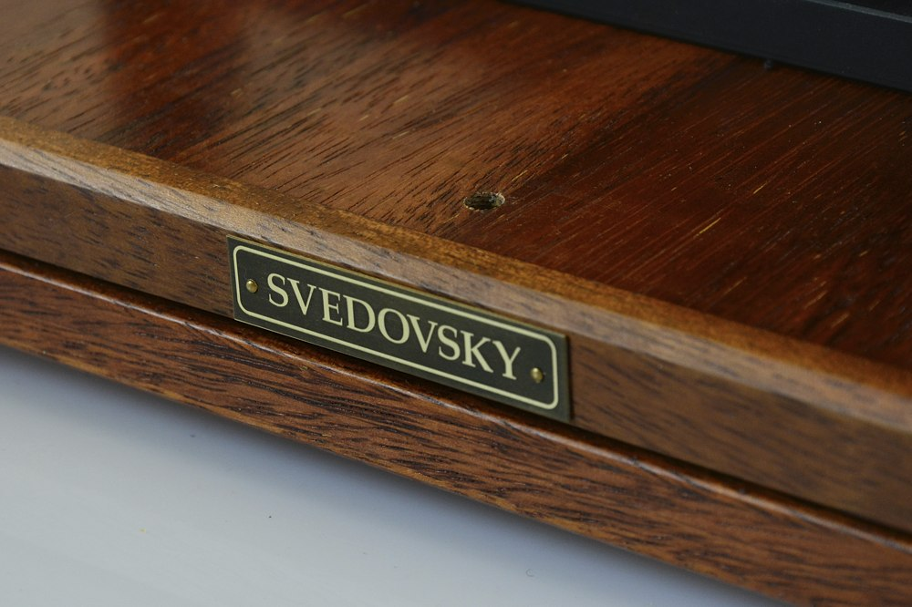 Svedovsky 11x14 large format camera, natural mahogany